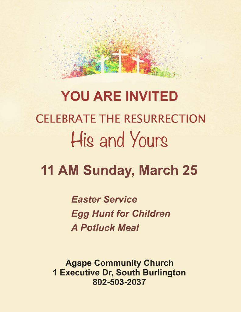 2018 Easter Celebration, Burlington, Vermont